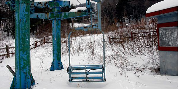 Old Used Ski Chair Lifts