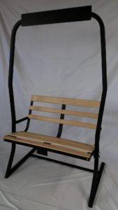 Ski Chairlift Bench