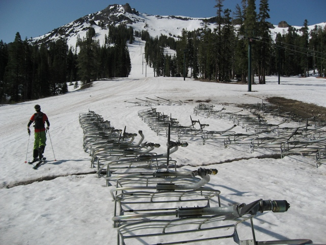Decommissioned Ski Lifts