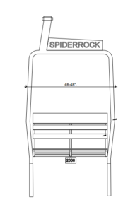 CUSTOM SPIDERROCK CHAIR